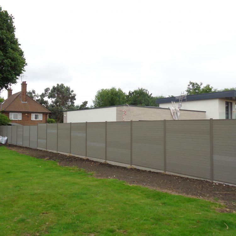 composite plastic fence panels