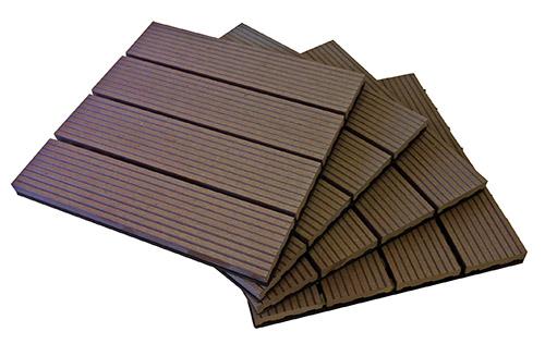 Brown Deck Tile Pile