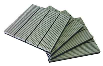 Grey Deck Tile Pile