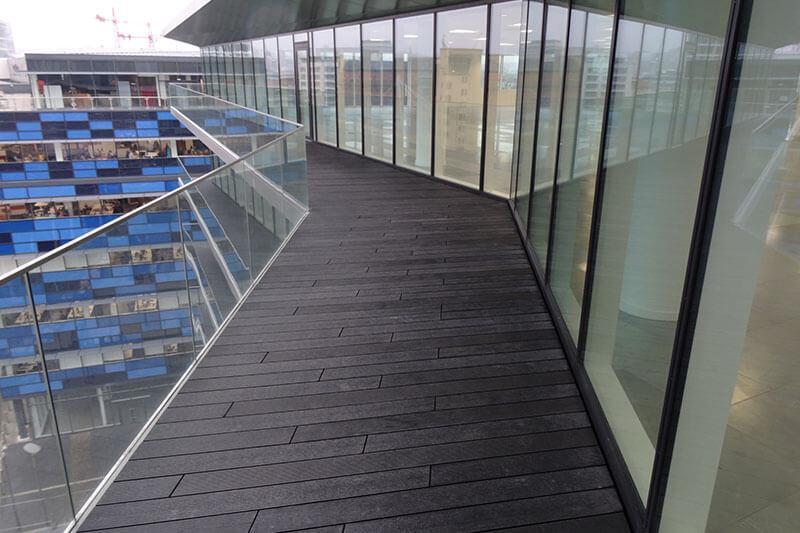 Glass Wharf Composite Decking Builddeck Balcony 2