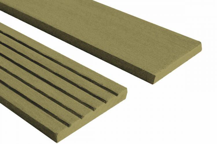 Builddeck Composite Fascia Trim Teak