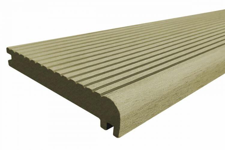 Builddeck Composite Step Board Teak