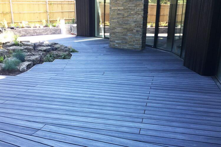 Composite Decking With Aluminium Substructure Builddeck 1