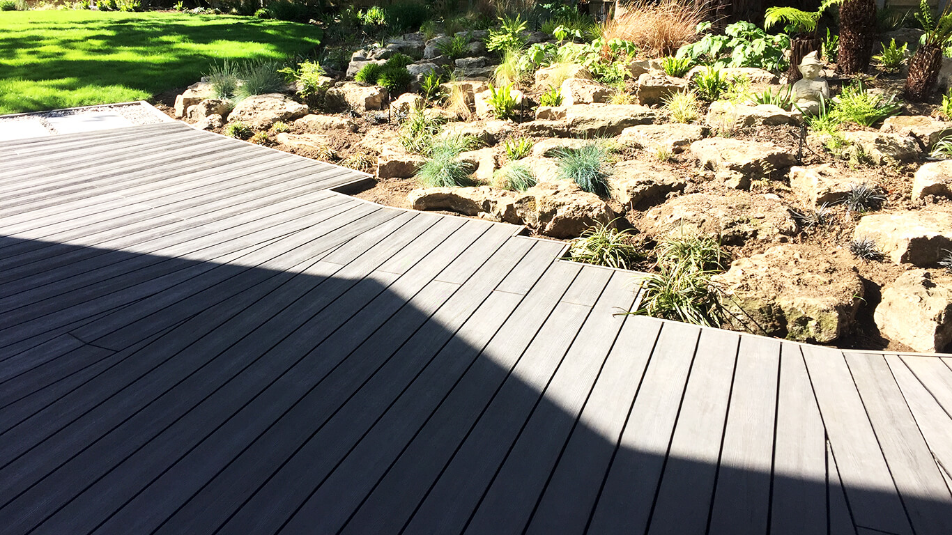 Composite Decking With Aluminium Substructure Builddeck 2