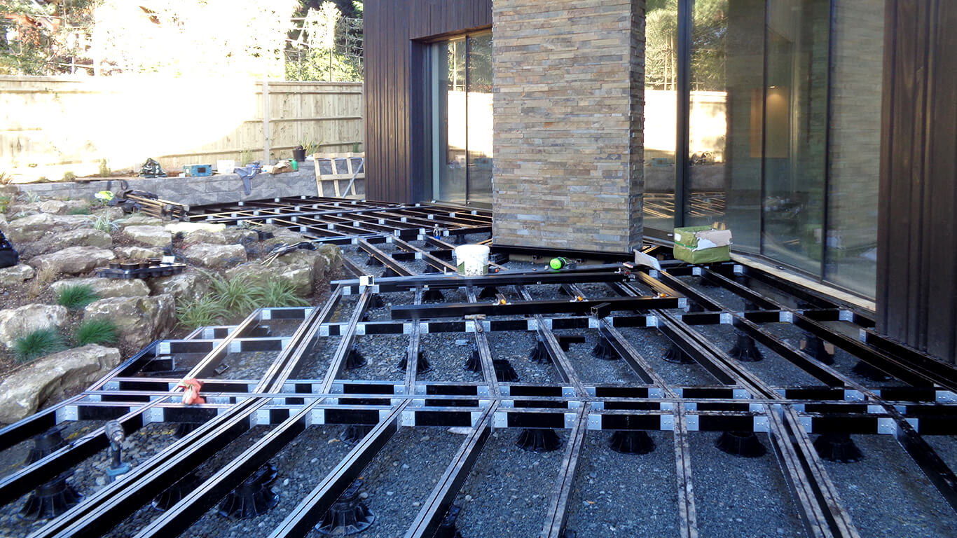 Composite Decking With Aluminium Substructure Builddeck 3