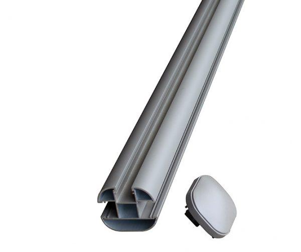 Aluminium Corner Post Composite Fence Composite Decking Builddeck