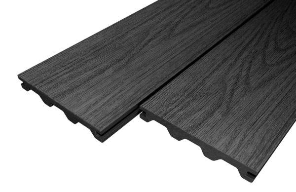 Ebony Woodgrain Victoria Builddeck Composite Decking