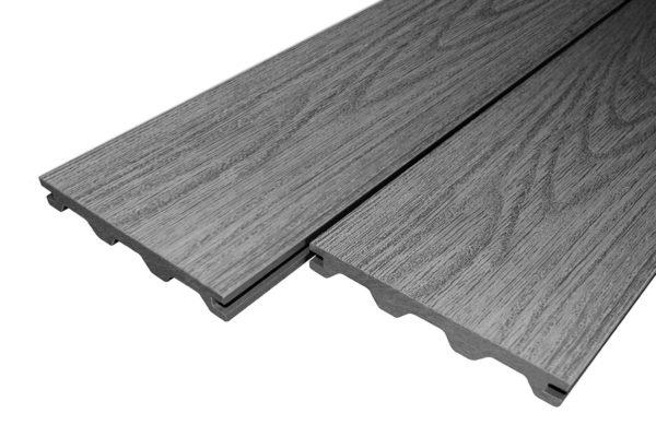 Grey Woodgrain Victoria Builddeck Composite Decking