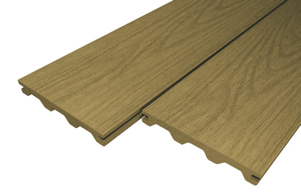 Teak Woodgrain Victoria Builddeck Composite Decking