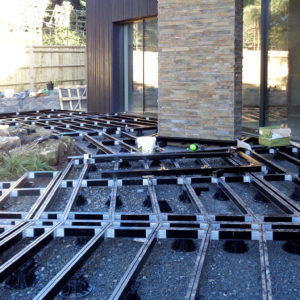 Composite Decking with Aluminium Substructure Builddeck
