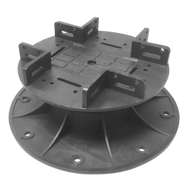 plastic pedestal builddeck composite decking